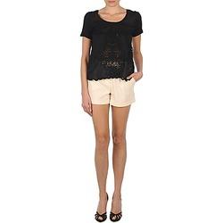 衣服 女士 短裤&百慕大短裤 Stella Forest YSH003 浅米色