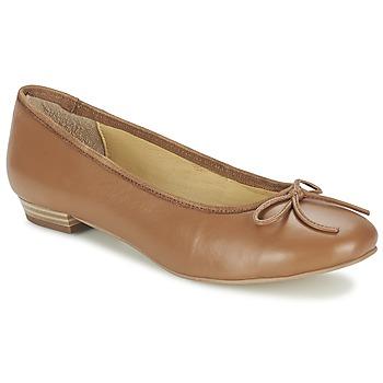 鞋子 女士 平底鞋 Balsamik ALVES largeur normale 驼色