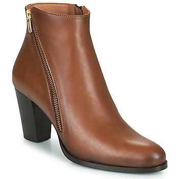 鞋子 女士 短靴 Fericelli POMIO 茶色