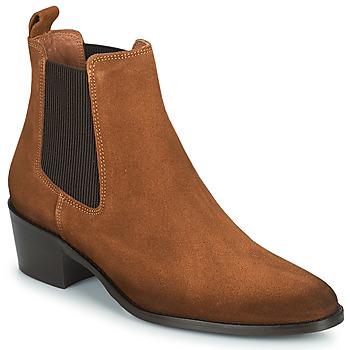 鞋子 女士 短筒靴 Fericelli PAMINA 茶色