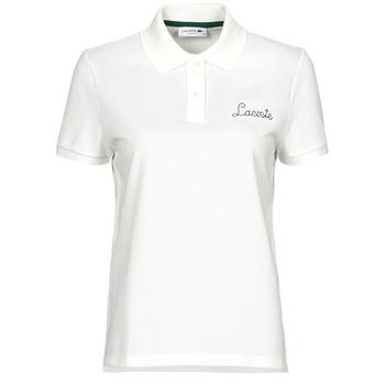 衣服 女士 短袖保罗衫 Lacoste PF7251 白色