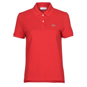 衣服 女士 短袖保罗衫 Lacoste POLO REGULAR FIT PF7839 红色