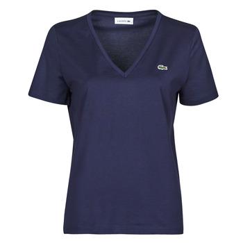 衣服 女士 短袖体恤 Lacoste LOUIS 海蓝色