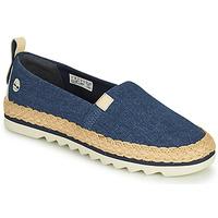 鞋子 女士 帆布便鞋 Timberland 添柏岚 Barcelona Bay Classic Textile 蓝色