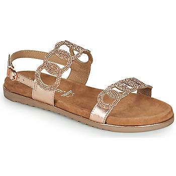 鞋子 女士 凉鞋 Marco Tozzi BLERINA 玫瑰色