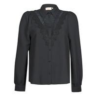 衣服 女士 衬衣/长袖衬衫 Moony Mood PABBECOURS 黑色