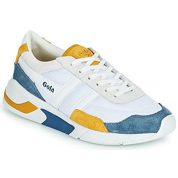 鞋子 女士 球鞋基本款 Gola GOLA ECLIPSE 白色 / 蓝色 / 黄色