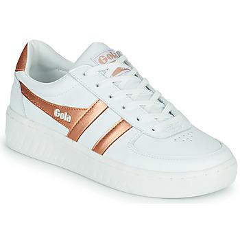 鞋子 女士 球鞋基本款 Gola GOLA GRANDSLAM 白色 / 古銅色