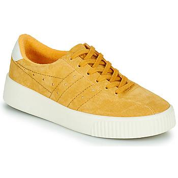 鞋子 女士 球鞋基本款 Gola GOLA SUPER COURT SUEDE 黄色