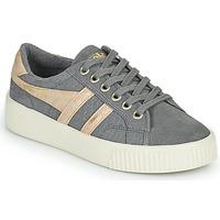 鞋子 女士 球鞋基本款 Gola BASELINE MARK COX MIRROR 灰色 / 金色