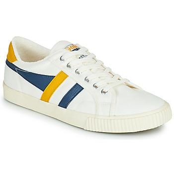 鞋子 男士 球鞋基本款 Gola GOLA TENNIS MARK COX 白色 / 蓝色 / 黄色