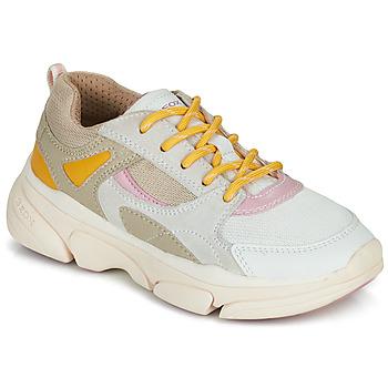 鞋子 女孩 球鞋基本款 Geox 健乐士 J LUNARE GIRL 米色