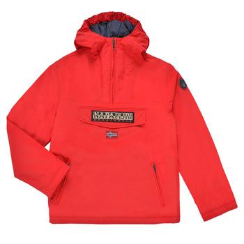 衣服 儿童 棉衣 Napapijri RAINFOREST POCKET 红色