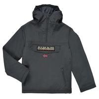 衣服 儿童 棉衣 Napapijri RAINFOREST POCKET 灰色