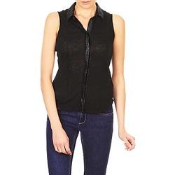 衣服 女士 短袖衬衫 Majestic ZOE 黑色