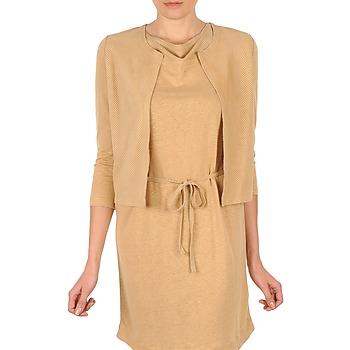 衣服 女士 羊毛开衫 Majestic BERENICE 米色