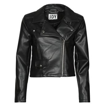 衣服 女士 皮夹克/ 人造皮革夹克 JDY JDYETTA 黑色