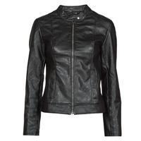 衣服 女士 皮夹克/ 人造皮革夹克 JDY JDYEMILY 黑色