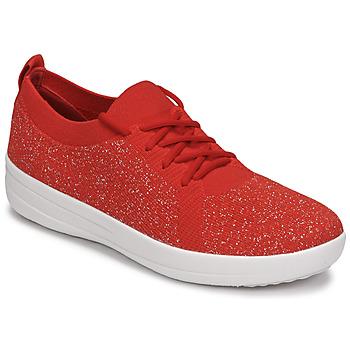鞋子 女士 球鞋基本款 FitFlop F-SPORTY 红色
