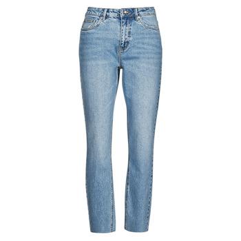 衣服 女士 紧身牛仔裤 Vero Moda VMBRENDA 蓝色 / 米色