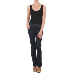 衣服 女士 直筒牛仔裤 Lee MARION STRAIGHT 蓝色