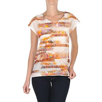 衣服 女士 短袖体恤 TBS JINTEE 白色
