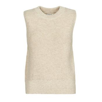 衣服 女士 羊毛衫 Only ONLPARIS 米色