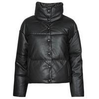 衣服 女士 皮夹克/ 人造皮革夹克 Only ONLLYDIA 黑色
