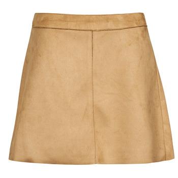 衣服 女士 半身裙 Only ONLLINEA 棕色