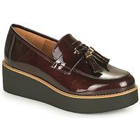 鞋子 女士 皮便鞋 Fericelli JOLLEGNO 波尔多红