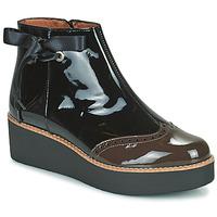 鞋子 女士 短筒靴 Fericelli JANDICI 黑色 / 棕色
