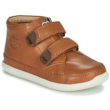 鞋子 儿童 高帮鞋 SHOO POM by Pom d'Api CUPY SCRATCH 棕色