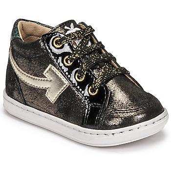 鞋子 女孩 高帮鞋 SHOO POM by Pom d'Api BOUBA ARROW 黑色