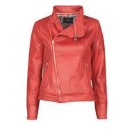 衣服 女士 皮夹克/ 人造皮革夹克 Desigual MARBLE 红色