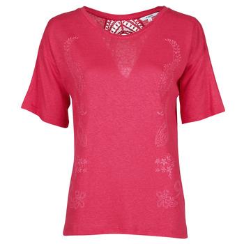 衣服 女士 短袖体恤 Desigual CLEMENTINE 红色