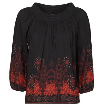 衣服 女士 女士上衣/罩衫 Desigual EIRE 黑色 / 红色