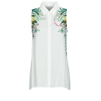 衣服 女士 女士上衣/罩衫 Desigual FILADELFIA 白色 / 绿色