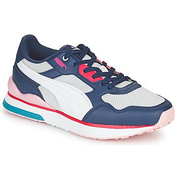 鞋子 女士 球鞋基本款 Puma 彪马 FUTURE 白色 / 灰色 / 蓝色 / 红色