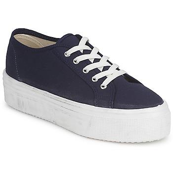 鞋子 女士 球鞋基本款 Yurban SUPERTELA 海蓝色