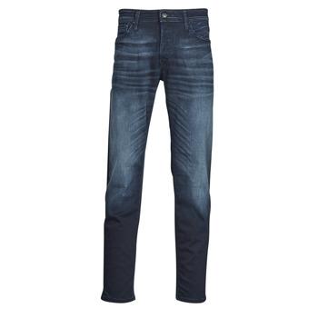 衣服 男士 紧身牛仔裤 Jack & Jones 杰克琼斯 JJIMIKE 蓝色 / Edium