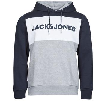 衣服 男士 卫衣 Jack & Jones 杰克琼斯 JJELOGO 海蓝色