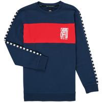 衣服 女孩 卫衣 Vans 范斯 SOLAL 蓝色 / 红色