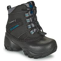 鞋子 儿童 雪地靴 Columbia 哥伦比亚 CHILDRENS ROPE TOW 黑色