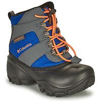 鞋子 儿童 雪地靴 Columbia 哥伦比亚 CHILDRENS ROPE TOW 蓝色 / 橙色