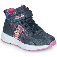 鞋子 女孩 高帮鞋 Disney MINNIE 黑色