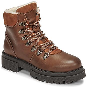 鞋子 女士 短筒靴 Fericelli PISTACHE 棕色