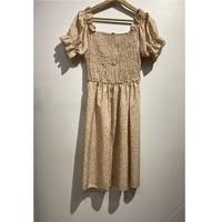 衣服 女士 短裙 Fashion brands 53176-BEIGE 米色