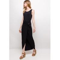衣服 女士 长裙 Fashion brands ERMD-1682-NEW-NOIR 黑色