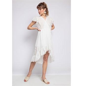 衣服 女士 短裙 Fashion brands U5233-BLANC 白色