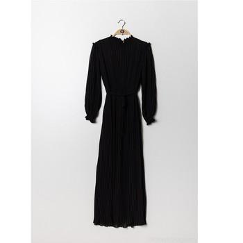 衣服 女士 长裙 Fashion brands 9805-NOIR 黑色